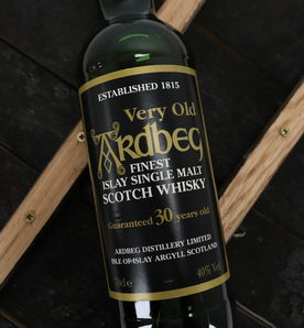 Ardbeg - Very old but very good.