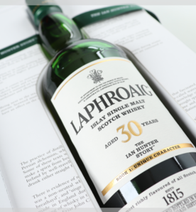 Laphroaig - a chapter of whisky & words.