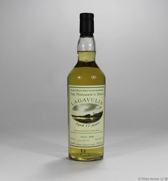 Lagavulin 11 Year Old Manager S Dram Auction Whisky Hammer