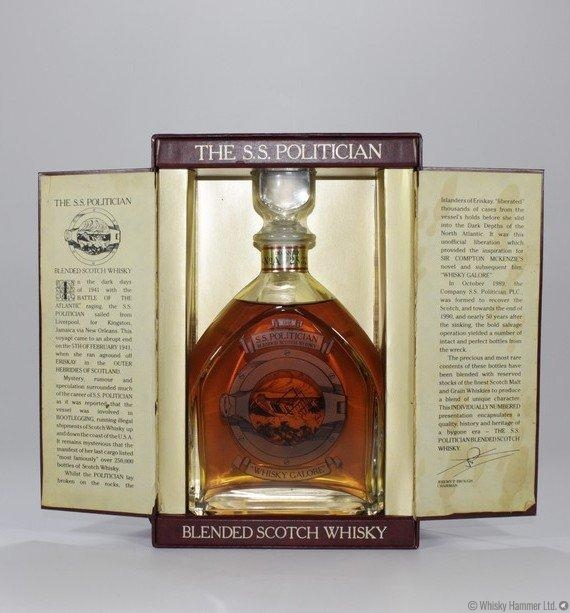 Image result for ss politician whisky