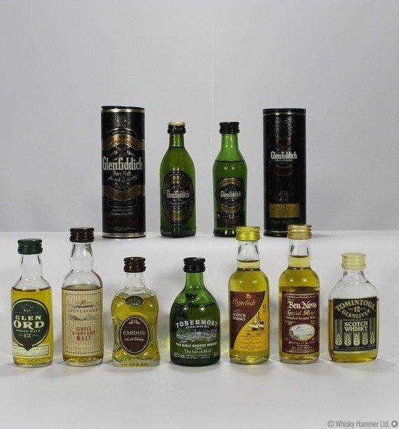 Single Malt Miniatures (9 x 5cl)