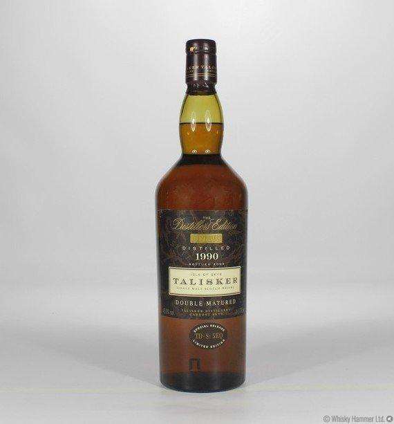Diageo talisker double mature scotch
