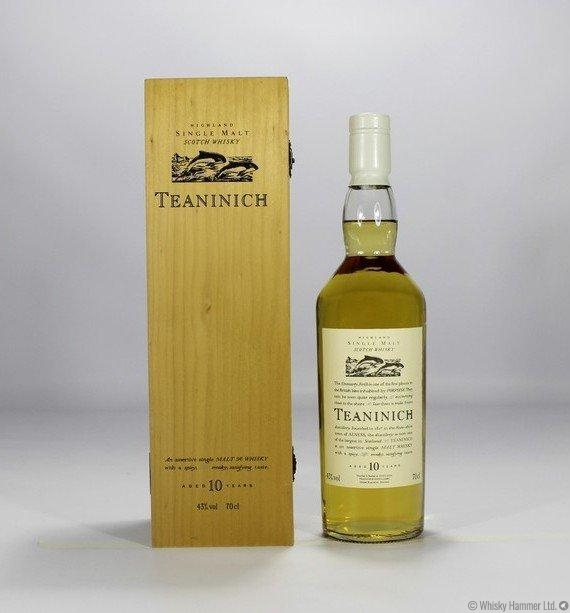 Teaninich - 10 Year Old (Flora & Fauna 1st Edition with Wooden Box)