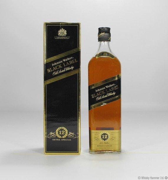 Black Label Price >> Johnnie Walker 12 Year Old Black Label 1 Litre Auction Whisky