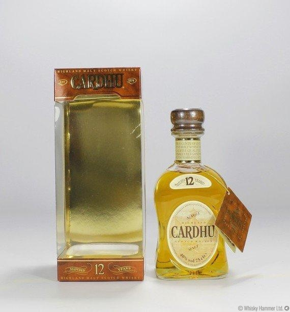 Cardhu - 12 Year Old (1980s, 75cl)