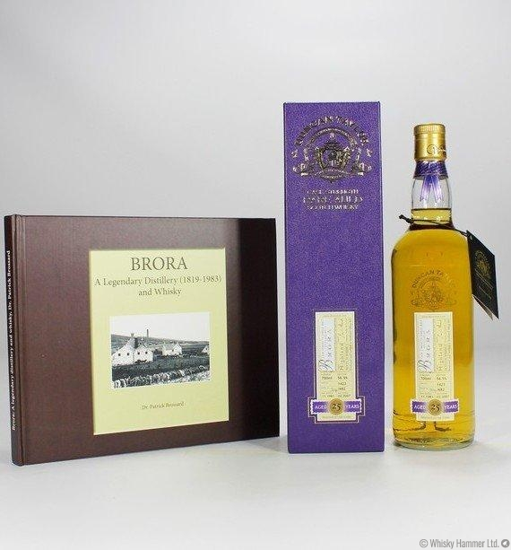 Brora - 25 Year Old 1981 (Duncan Taylor Rare Auld) + Brora book