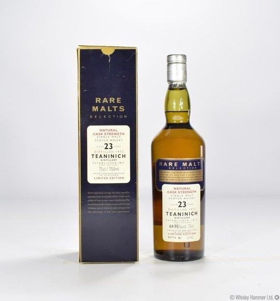 0f9a14e930d Teaninich - 23 Year Old (1972 Rare Malts) Thumbnail