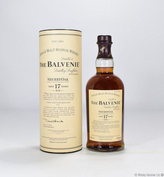 Balvenie - 17 Year Old (Sherry Oak) First Edition 2007 Release