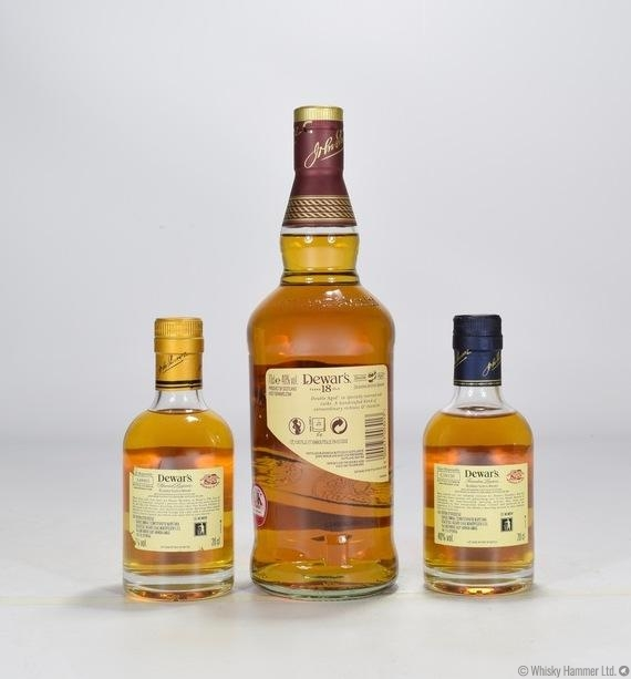 18 Year Old & 2 X 20cl 12 Year Old Auction