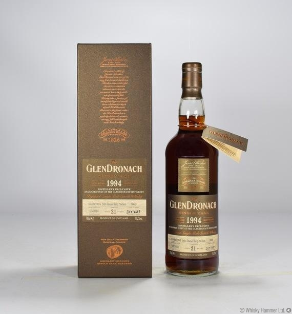 Glendronach - 21 Year Old (1994) Single Cask #3399 (Distillery Exclusive)