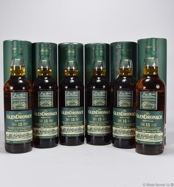 Glendronach - 15 Year Old (Revival) x 6 Bottles