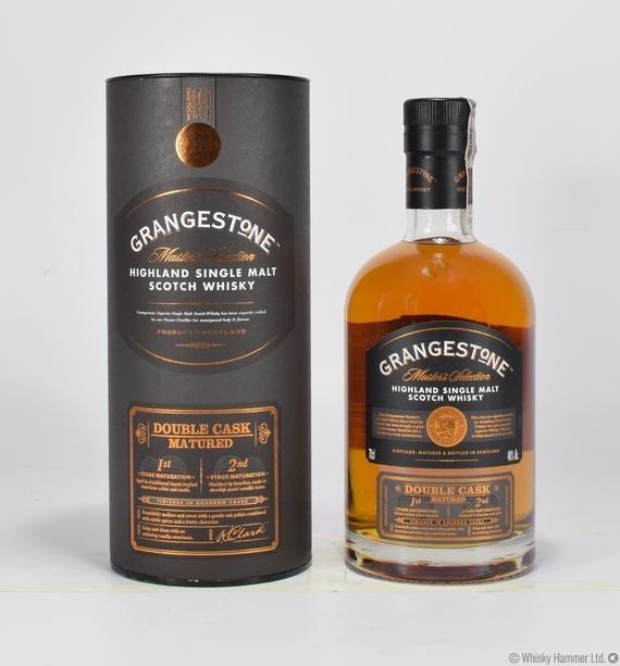 grangestone double cask matured auction whisky hammer