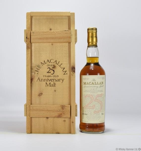 Macallan - 25 Year Old (1965) Anniversary Malt