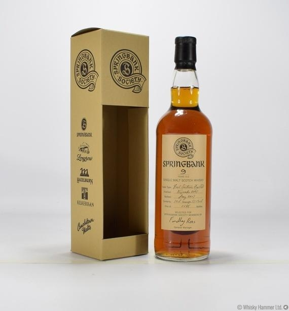Springbank - 9 Year Old (Society Bottle)