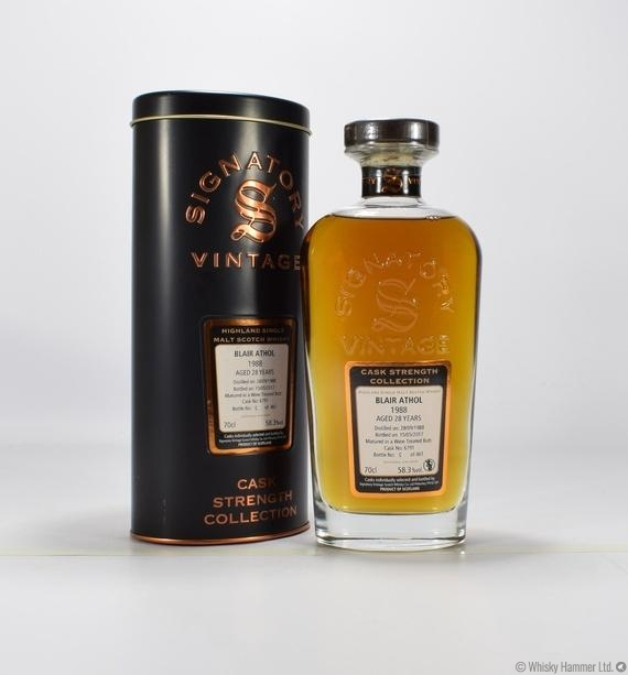 Blair Athol - 28 Year Old (1988) Signatory Vintage