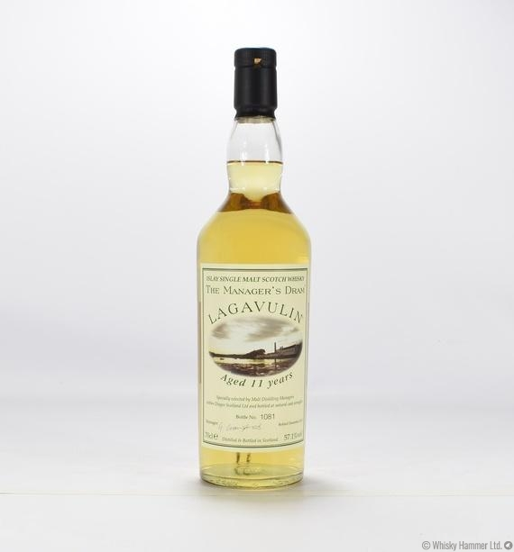 Lagavulin 11 Year Old Manager S Dram Auction Whisky