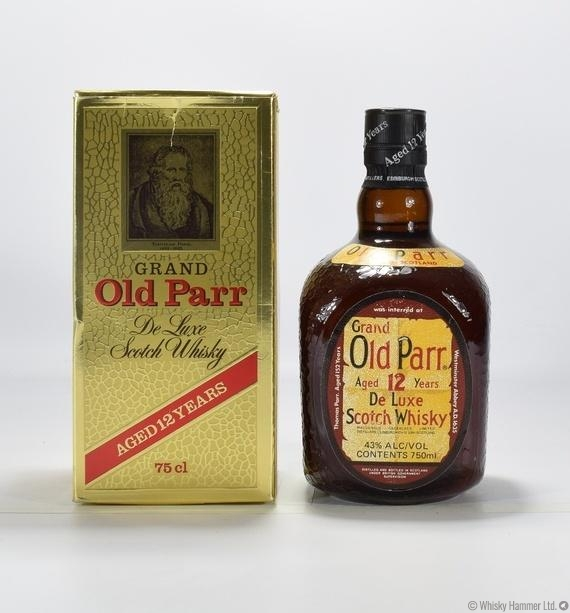 Grand Old Parr - 12 Year Old (1980s)
