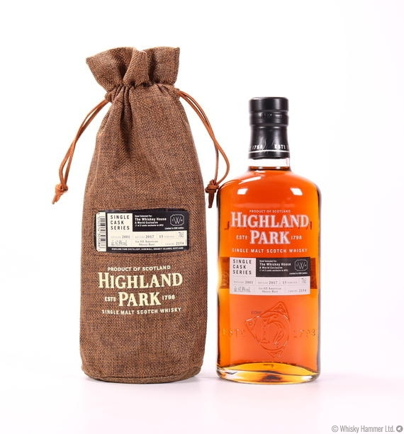 Highland Park - 15 Year Old (Single Cask Series) The Whisky House