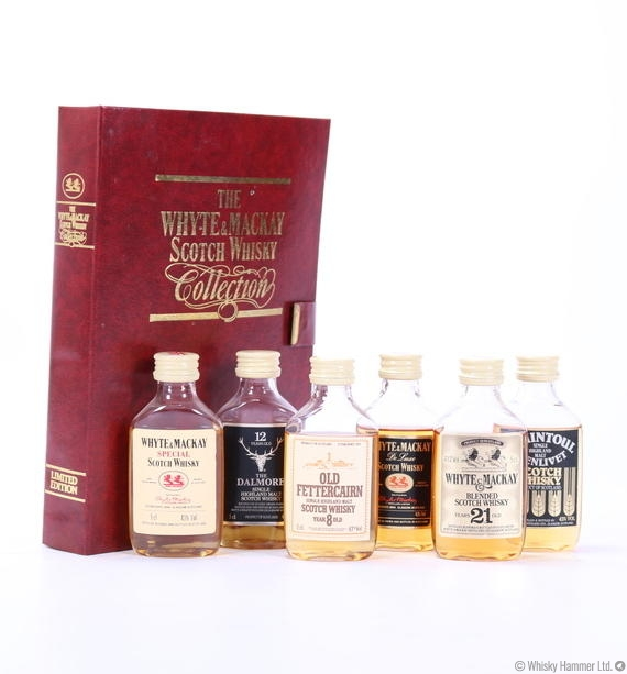Whyte & Mackay - Book Collection (6 x 5cl)