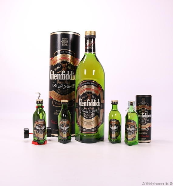 Glenfiddich - Special Old Reserve (1L + 4 Miniatures)