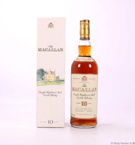 Macallan - 10 Year Old (1980s) 75cl
