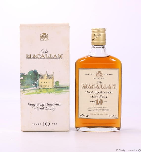 Macallan - 10 Year Old (37.5cl, 1980s)