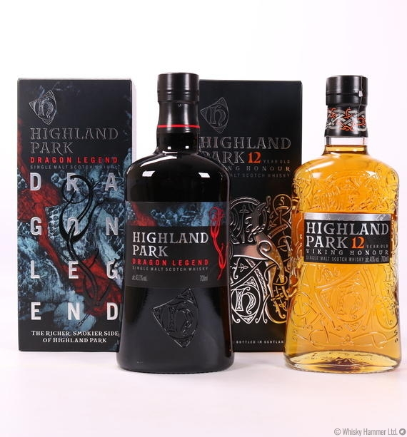 Highland Park Set - Dragon Legend & Viking Honour