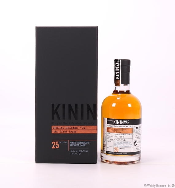 "Kininvie - 25 Year Old ""First Drops"" (1990)"