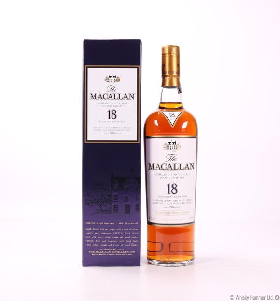 MacAllan - 18 Year Old (2016 edition)