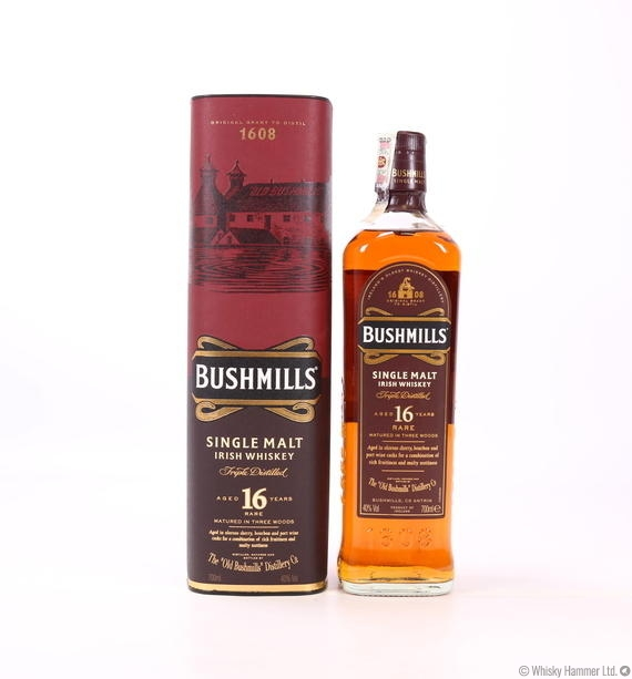 Bushmills - 16 Year Old (Single Malt)