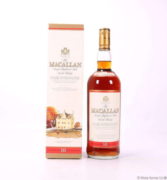 Macallan - 10 Year Old (Cask Strength) 1 Litre