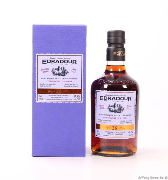 Edradour - 26 Year Old (Farewell to 1985)