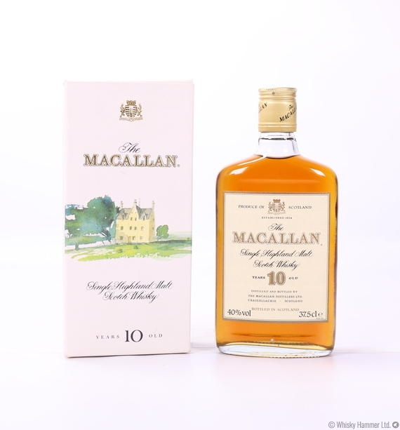 Macallan - 10 Year Old (1980s) 37.5cl