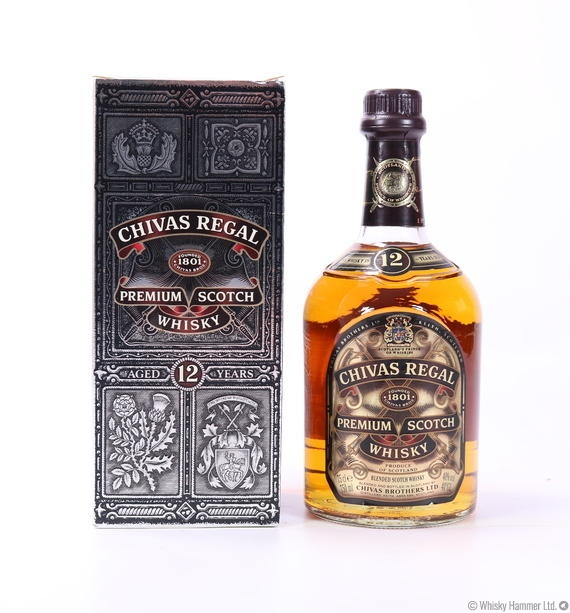 f4eac952de3 Chivas Regal - 12 Year Old (1980s) Auction | Whisky Hammer