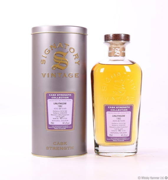 Linlithgow - 26 Year Old (1982, Signatory Vintage)