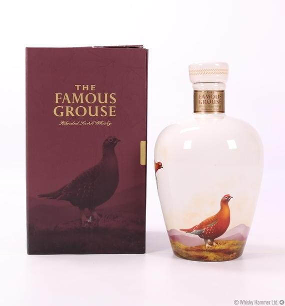 Famous Grouse Celebration Blend Ceramic Decanter Auction