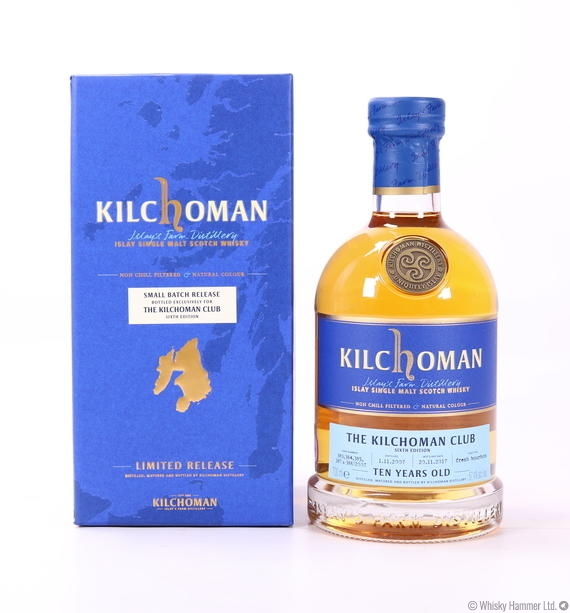 Kilchoman - 10 Year Old (Club Release 2017)