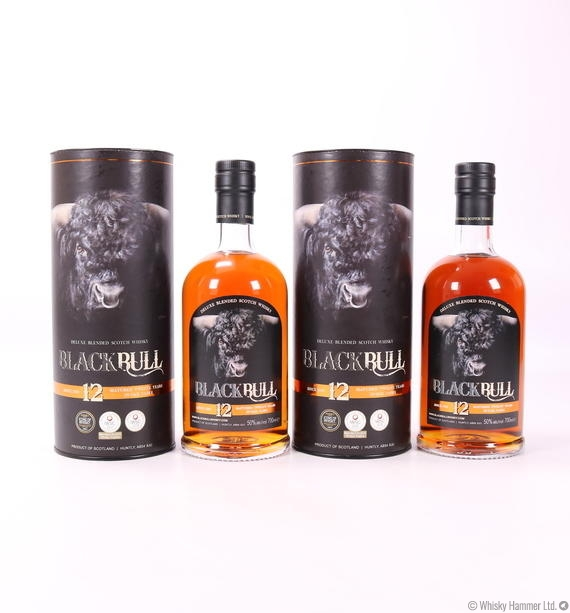 Black Bull - 12 Year Old (Duncan Taylor) 2 x 70cl Bottles