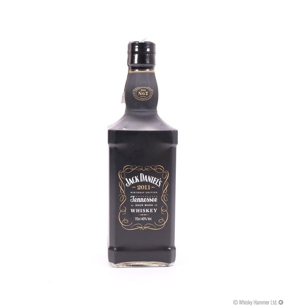 Jack Daniels - 2011 Birthday Edition Auction | Whisky Hammer