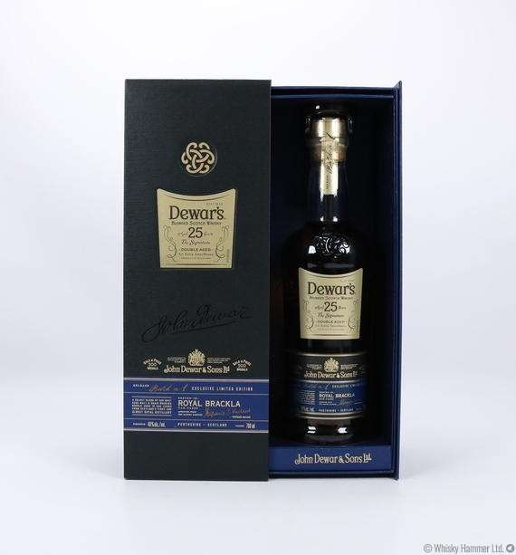 Dewar's - 25 Year Old (The Signature) Auction