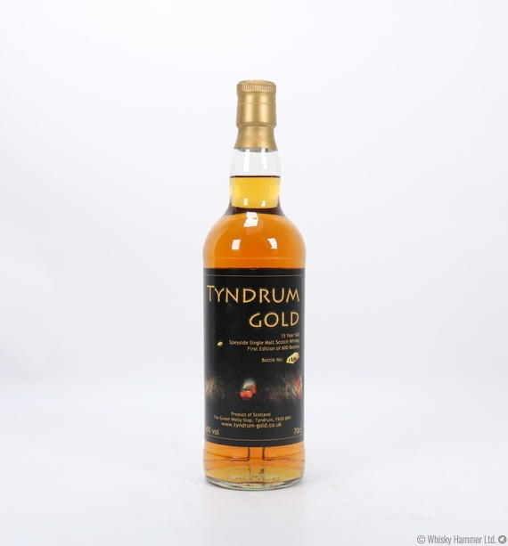 Tyndrum Gold - 15 Year Old (Green Welly Stop)
