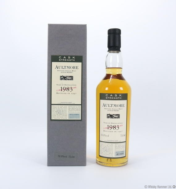 Aultmore - 1983 (Cask Strength)
