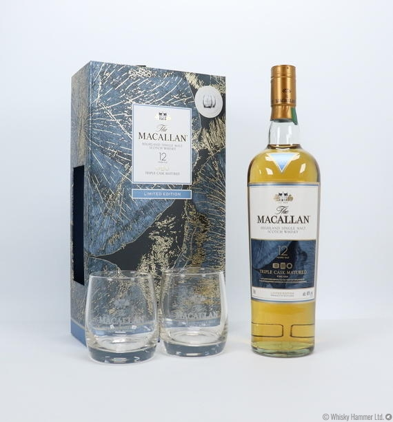 Macallan - 12 Year Old (Triple Cask) Limited Edition Gift Set