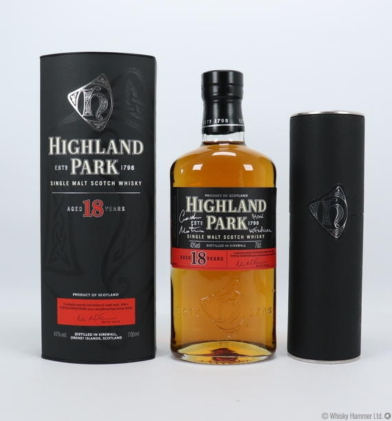 Highland Park - 18 Year Old (Signed Limited Edition)