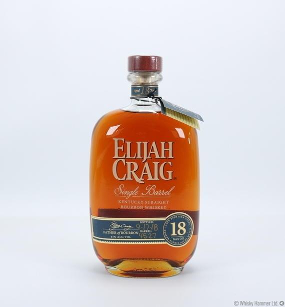 Tidssvarende Elijah Craig - 18 Year Old (2018) Auction | Whisky Hammer BP-73
