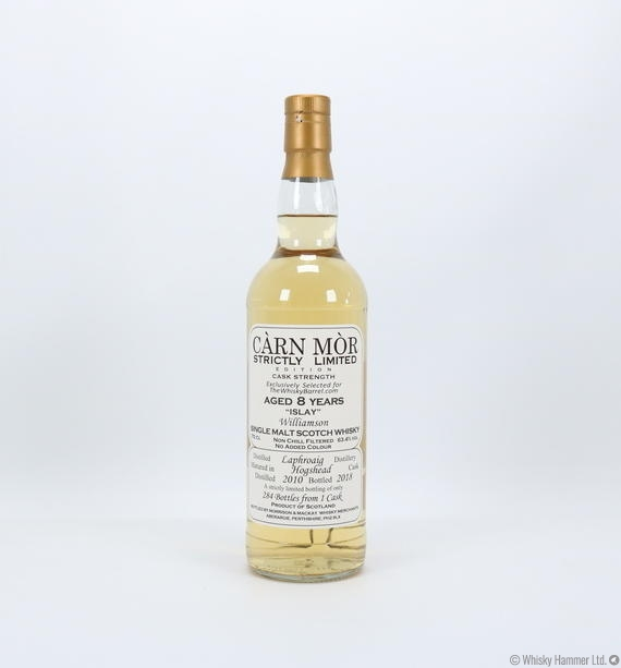 Laphroaig - 8 Year Old (2010) Carn Mor Strictly Limited