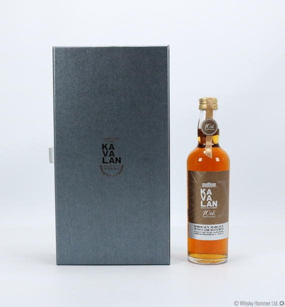 Kavalan - Bordeaux Margaux Wine Cask (10th Anniversary) 20cl