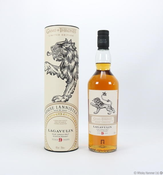 Lagavulin - 9 Year Old (Game of Thrones) House Lannister