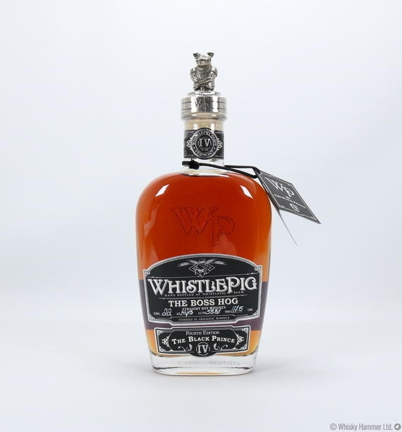 Whistlepig - 14 Year Old (The Boss Hog) Black Prince IV