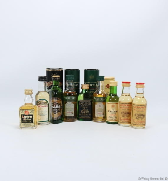 Miniature Collection - 9 Bottles